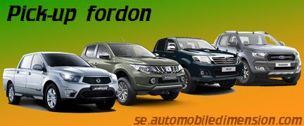 Pick-up fordon